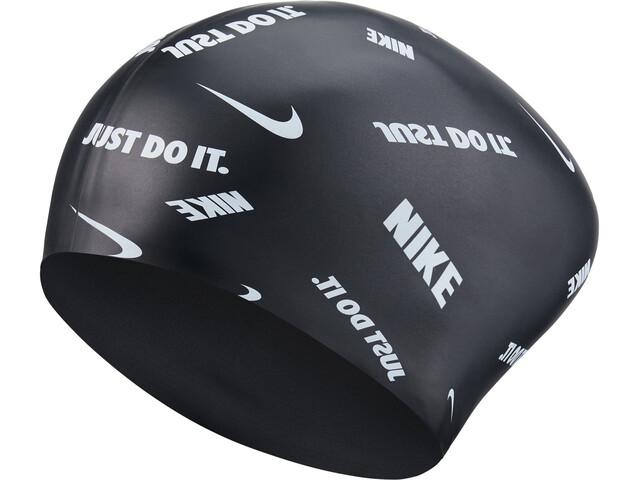 Nike Swim Logo Gorro de silicona, black